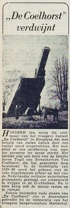 Dagblad voor Amersfoort, 13-11-1951.